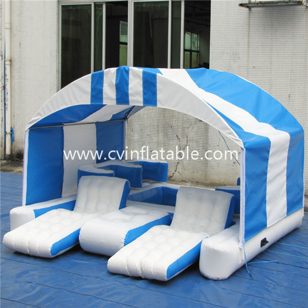 inflatable water floating island