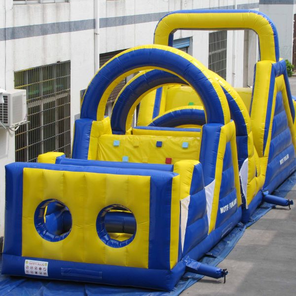 inflatable kids obstacle course