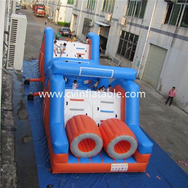 commercial inflatable obstacle