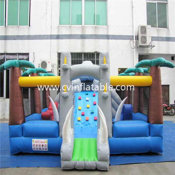 inflatabel Jurassic bouncer playground
