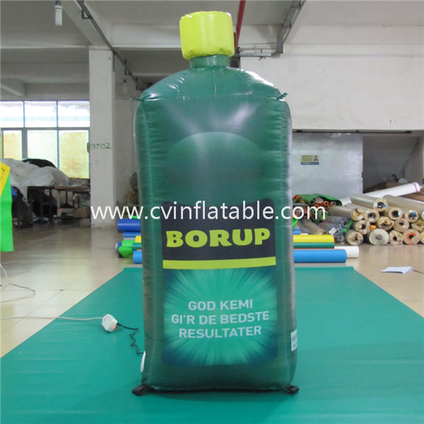 inflatable bottle for advertising