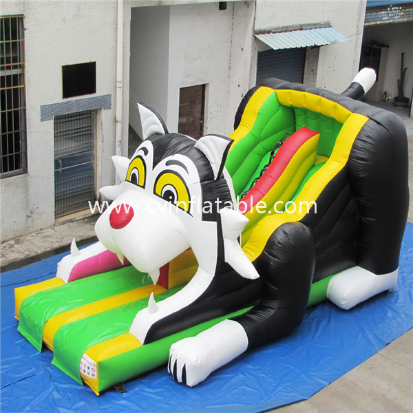 inflatable cat slide