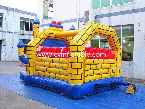 inflatable dinosaur bouncy castle (3)