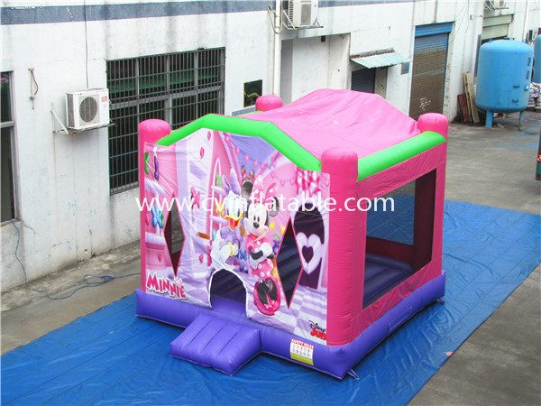 inflatable mickey bouncer