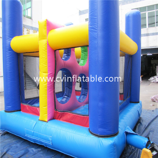 inflatable obstacle bounce house