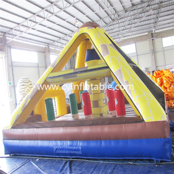 inflatable pyramid bouncer
