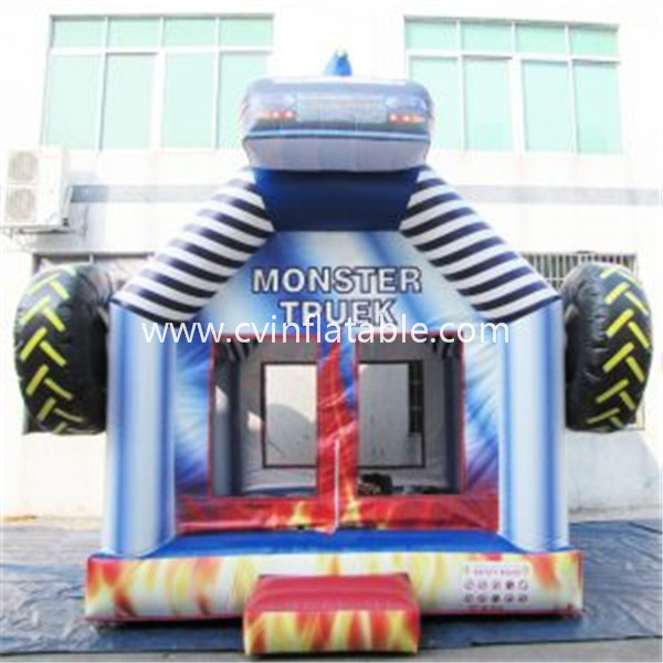 inflatable race car bouncer