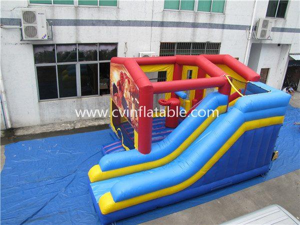 inflatable-spiderman-bouncer-slide