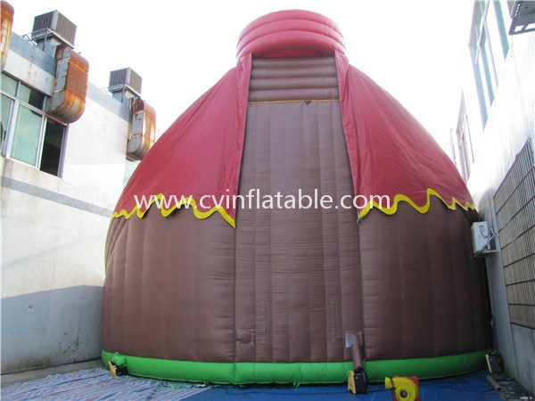 Jurassic park inflatable slide playground (4)