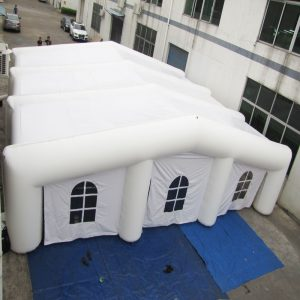 inflatable tent and tunnel