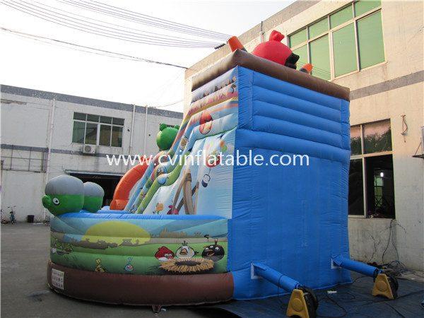 inflatable angry bird slide (3)