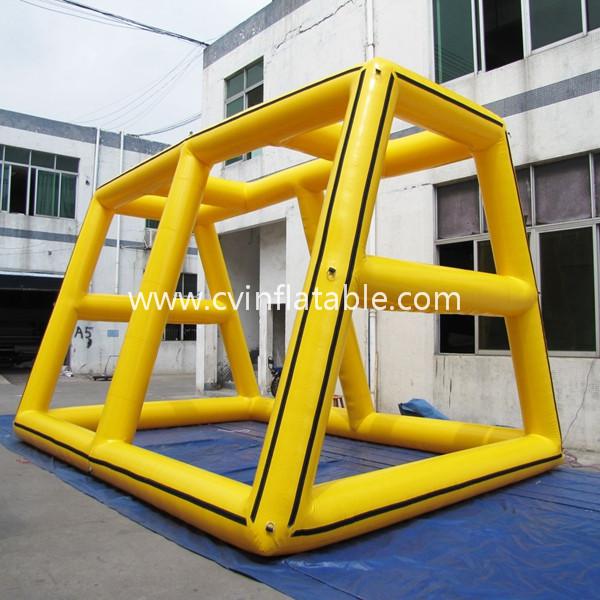 inflatable billboard frame