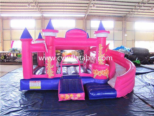 inflatable bouncer slide combo