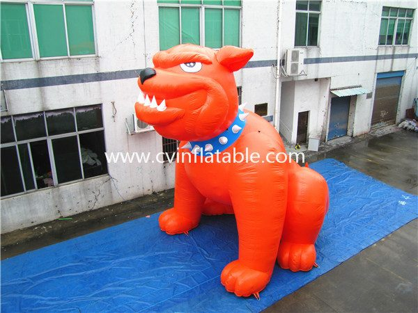 inflatable cartoon dog