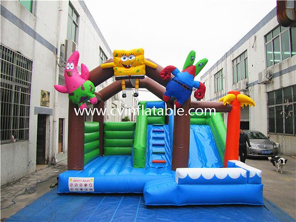 inflatable combo bouncer slide