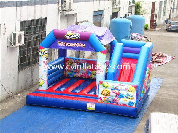 inflatable combo slide (4)