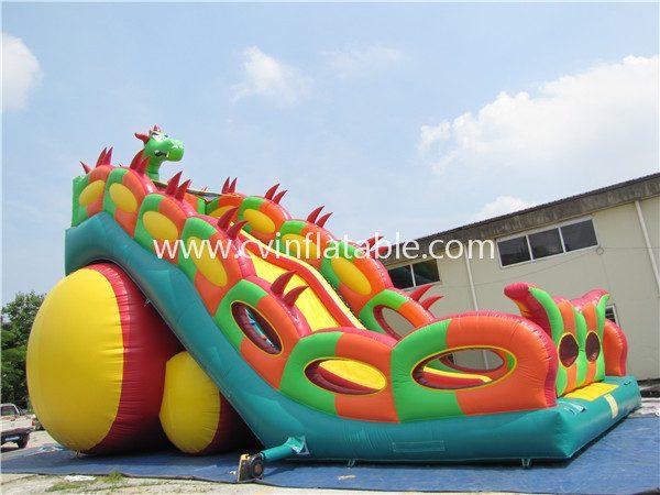 inflatable dinosaur slide (2)