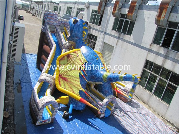 inflatable dinosaur slide (3)