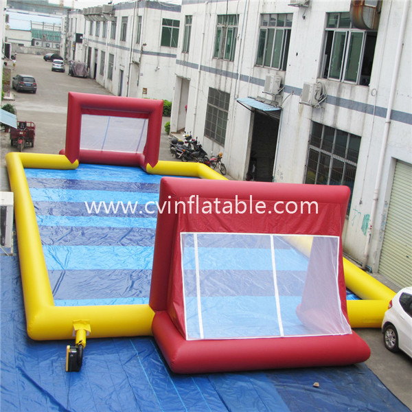 inflatable football field