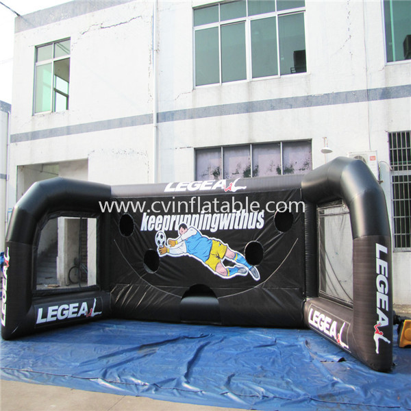 inflatable football target dart game