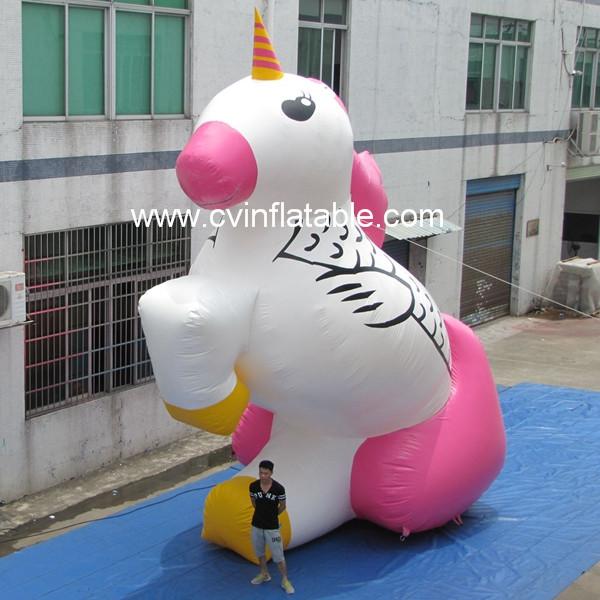 inflatable giant animal toy unicorn