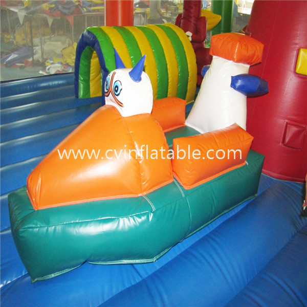 inflatable giant playground