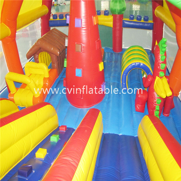 inflatable giant tent playground