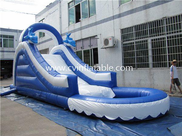 inflatable slide (12)