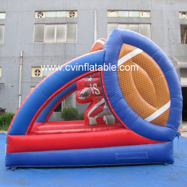 inflatable soccer goal game