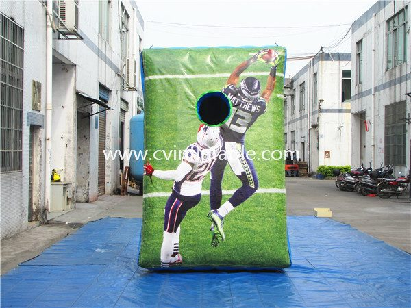 inflatable soccer target dart
