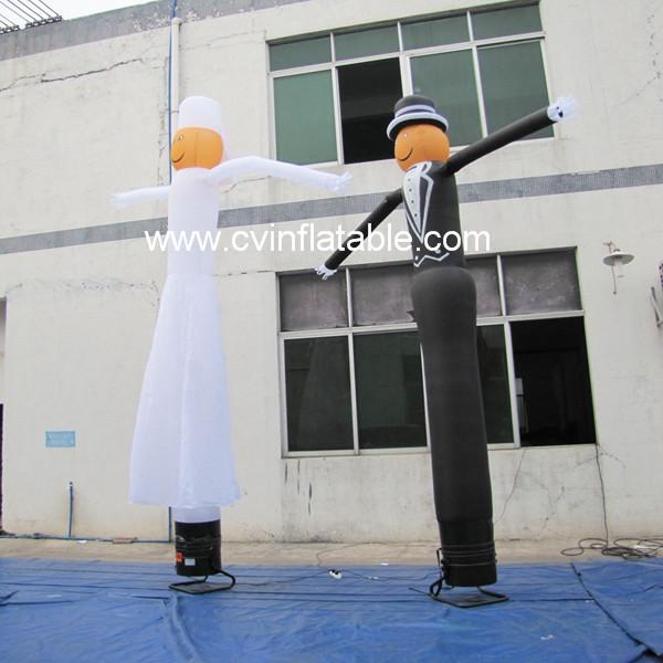inflatable wedding air dancers