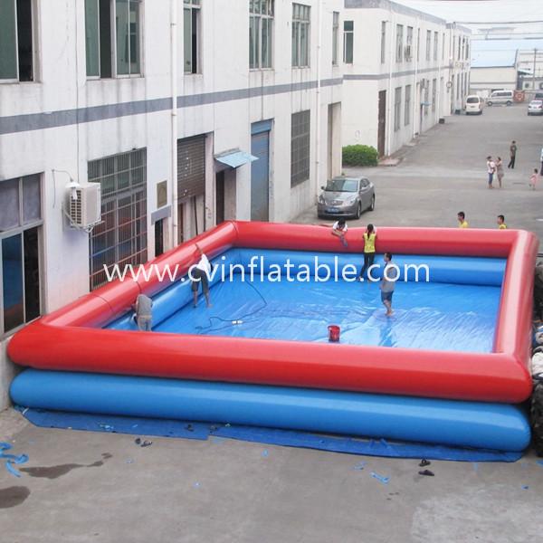 inflatable big swimming pool