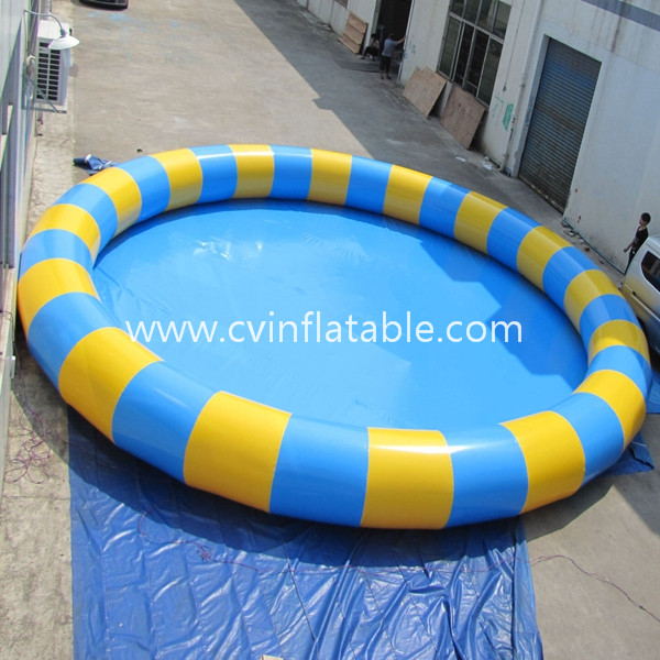 inflatable round water pool