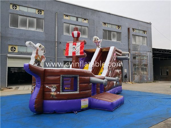 inflatable-pirate-ship-slide