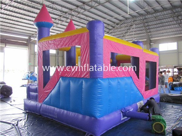 inflatable castle combo