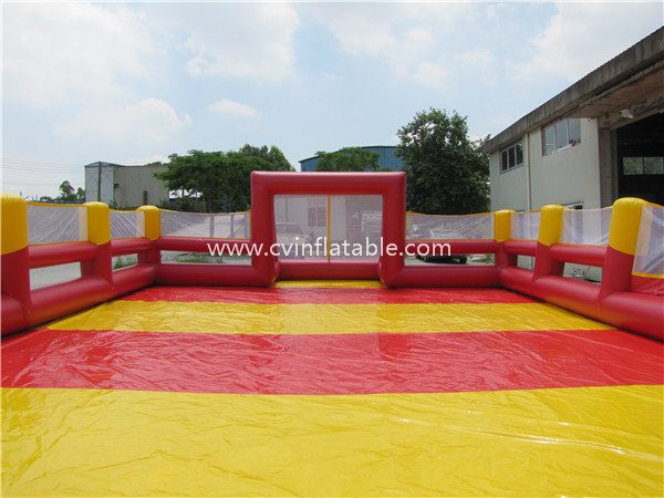 inflatable football field court