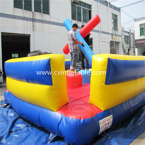joust inflatable sport game
