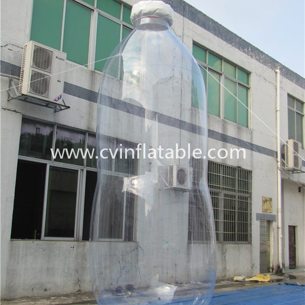 giant inflatable bottle