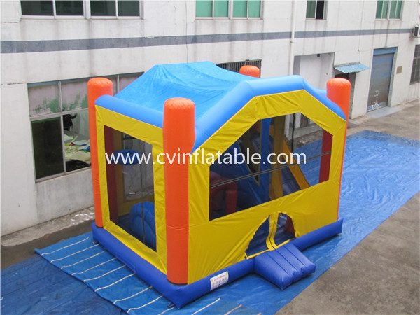 inflatable bouncy castle slide combo (2)