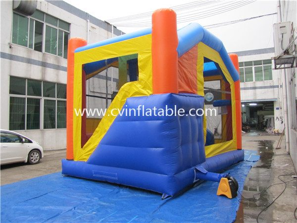 inflatable bouncy castle slide combo (3)