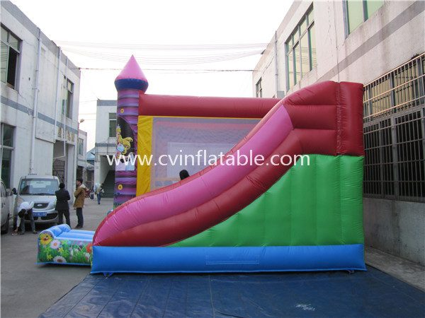 inflatable castle with slide (3)