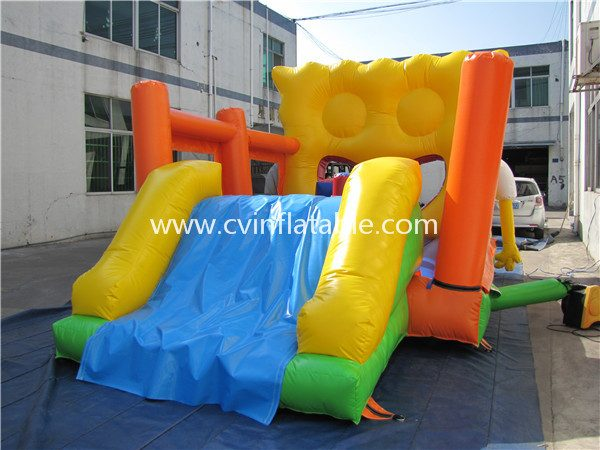 inflatable combo bouncer (4)