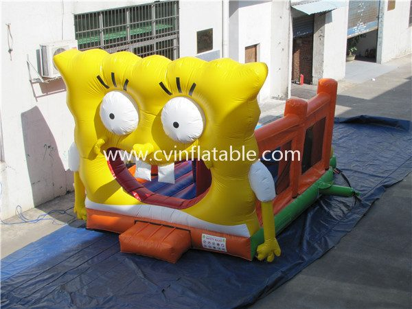 inflatable combo bouncer