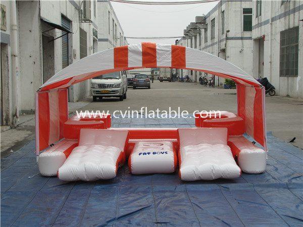 inflatable floating island (2)