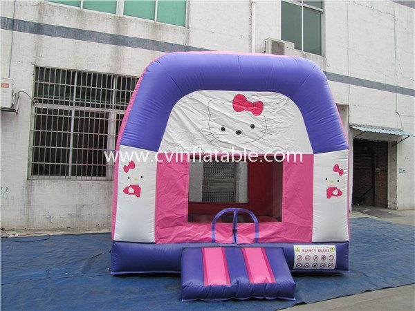 inflatable kitty bouncer