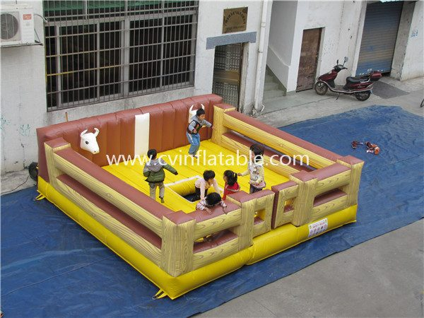 inflatable mechanical bull (2)