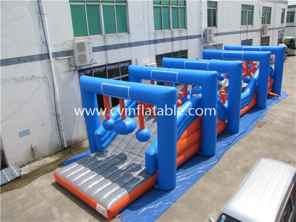 inflatable obstacle races