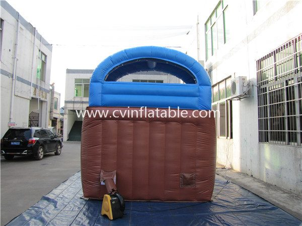 inflatable slide with pool (3)