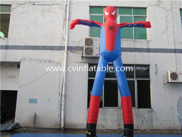 inflatable spiderman air dancers