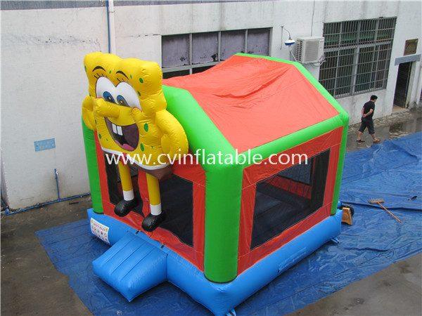 inflatable spongebob bouncer (2)